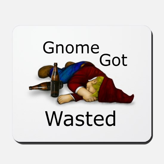 Gnome Got Wasted Mousepad