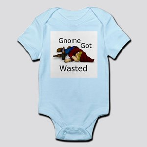 Gnome Got Wasted Infant Bodysuit