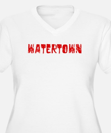 Watertown Faded (Red) T-Shirt