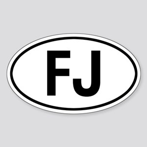 toyota FJ Sticker