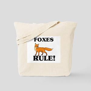 Foxes Rule! Tote Bag