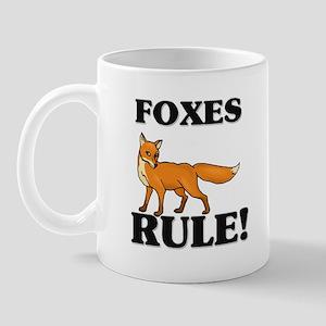 Foxes Rule! Mug