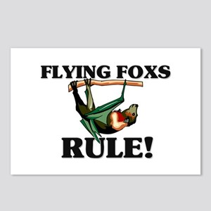 Flying Foxs Rule! Postcards (Package of 8)