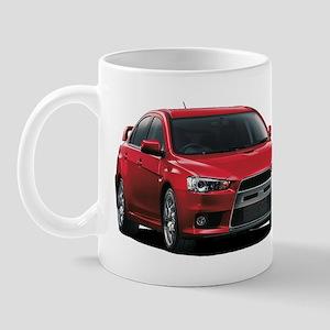 Red Evo X Mug
