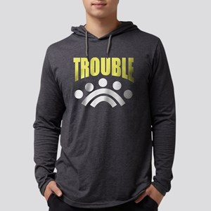 trouble (match with DOUBLE) Long Sleeve T-Shirt