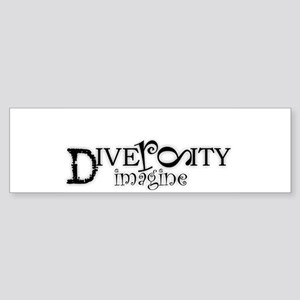 Diversity Imagine Bumper Sticker