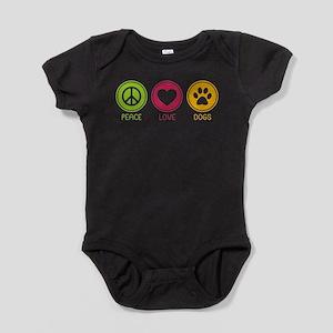 Peace - Love - Dogs 1 Infant Bodysuit Body Suit