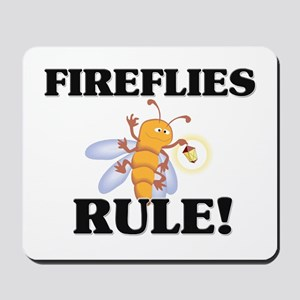 Fireflies Rule! Mousepad