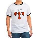 Lobster fleur De Lis Ringer T