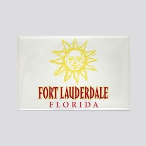 Ft. Lauderdale Sun - Rectangle Magnet