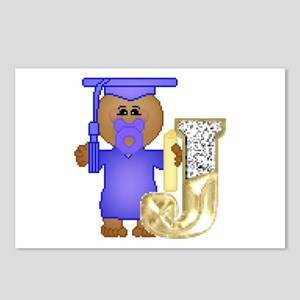 Baby Initials - J Postcards (Package of 8)