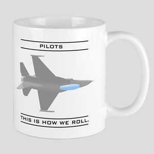 Pilots: How We Roll Mug