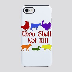 Thou Shall Not Kill iPhone 8/7 Tough Case