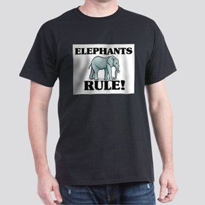 Elephants Rule! Dark T-Shirt