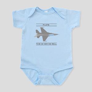 Pilots: How We Roll Infant Bodysuit