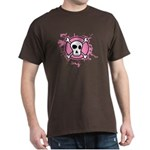 Fishnet Skull Dark T-Shirt