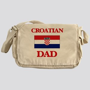 Croatian Dad Messenger Bag