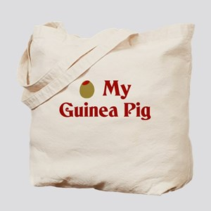 Olive (I Love) My Guinea Pig Tote Bag