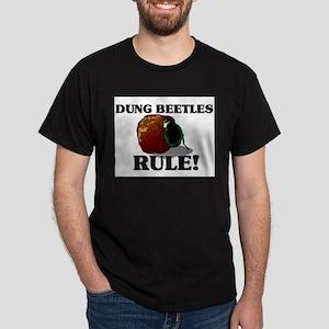 Dung Beetles Rule! Dark T-Shirt