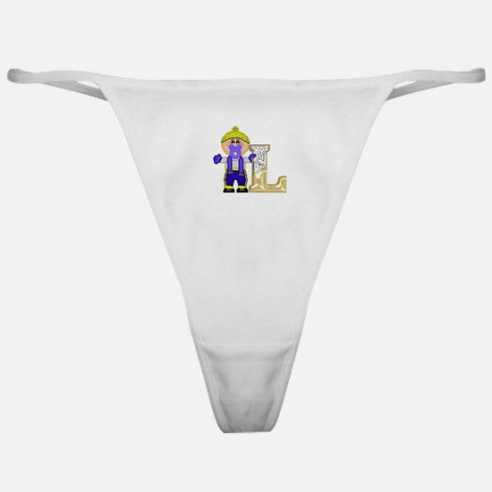 Baby Initials - L Classic Thong