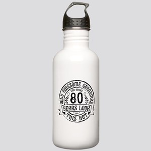 Grandma 80th Bday Stainless Water Bottle 1.0L