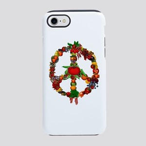Veggie Peace Sign iPhone 8/7 Tough Case