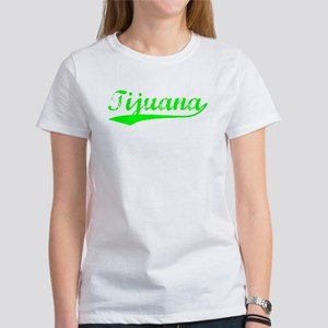 Vintage Tijuana (Green) Women's T-Shirt