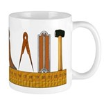 Masonic Working Tools Mug