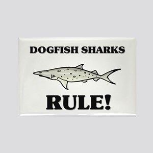 Dogfish Sharks Rule! Rectangle Magnet