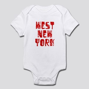 West New York Faded (Red) Infant Bodysuit