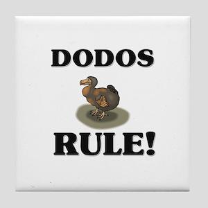 Dodos Rule! Tile Coaster