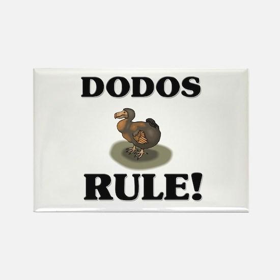 Dodos Rule! Rectangle Magnet (10 pack)