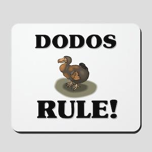 Dodos Rule! Mousepad