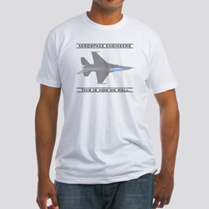 Aero Engineers: How We Roll Fitted T-Shirt