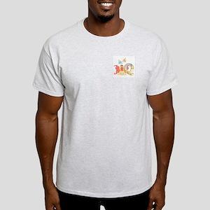 Baby Initials - Q Ash Grey T-Shirt