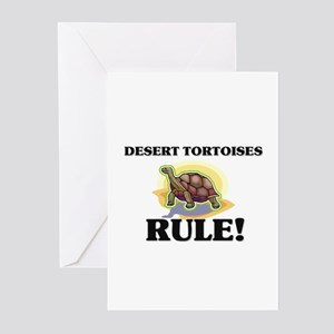 Desert Tortoises Rule! Greeting Cards (Pk of 10)