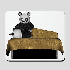 Panda Bear Massage Mousepad