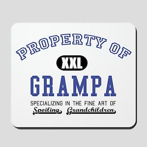 Property of Grampa Mousepad