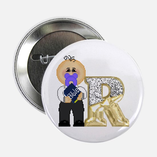 Baby Initials - R Button