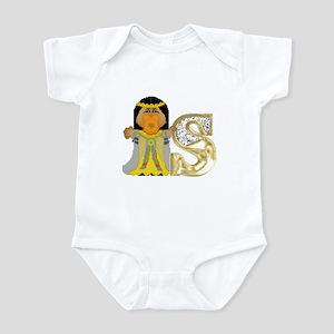 Baby Initials - S Infant Creeper