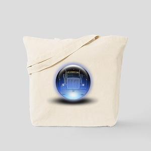 Trucker's Crystalball Tote Bag