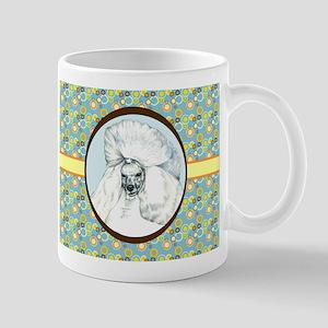 Poodle Retro Mug