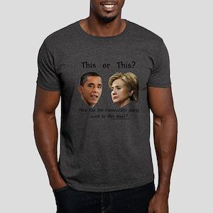"""Democrats Hit New Low"" Dark T-Shirt"