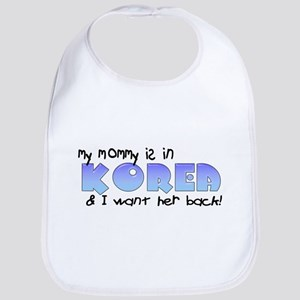 Mommy Korea Blue Bib