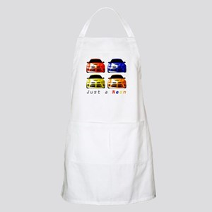 Just a Neon BBQ Apron