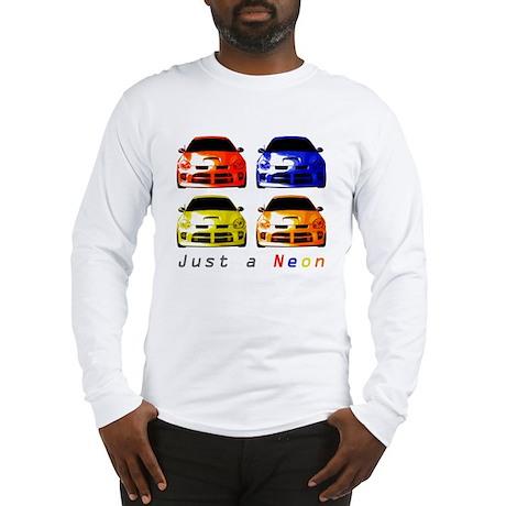 Just a Neon Long Sleeve T-Shirt