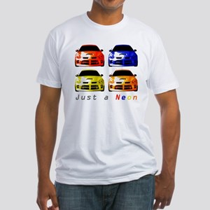 Just a Neon Fitted T-Shirt