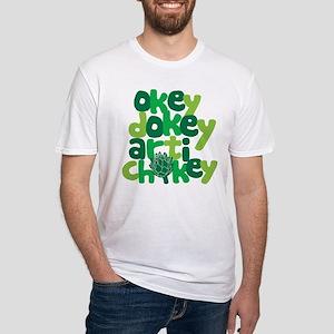 Okey Dokey Fitted T-Shirt