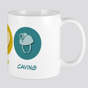 Peace Love Caving Mug