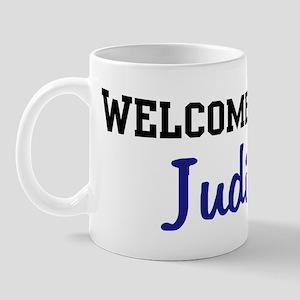 Welcome Home Judith Mug